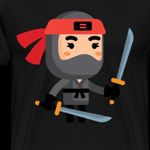 Ninja Lvl 3 - Men's Premium T-Shirt
