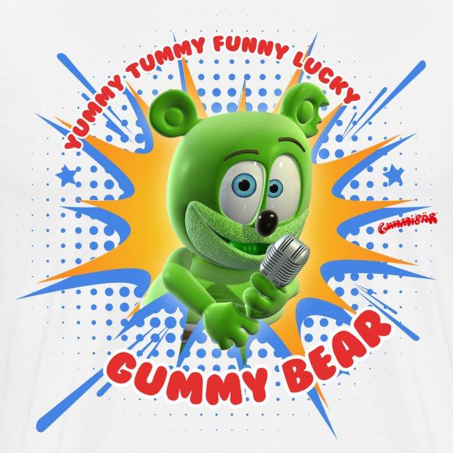 Funny Lucky Gummy Bear