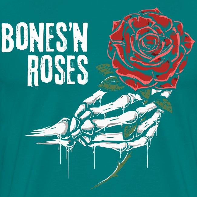 skull bones roses