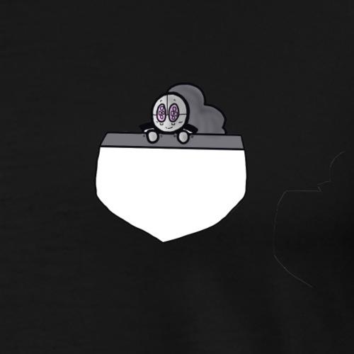 Gray Pocket Buddy - Men's Premium T-Shirt