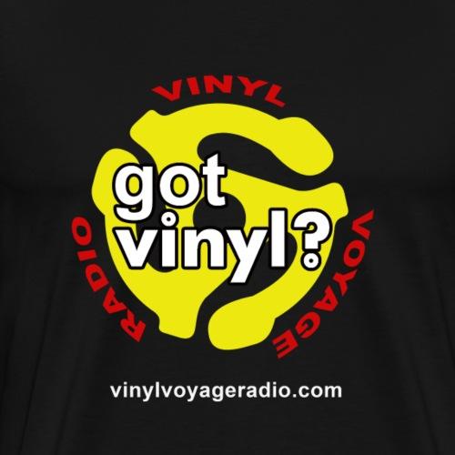 Vinyl Voyage Official T-Shirt - Men's Premium T-Shirt