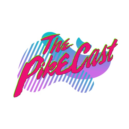 The PikeCast Synthwave Logo - Men's Premium T-Shirt