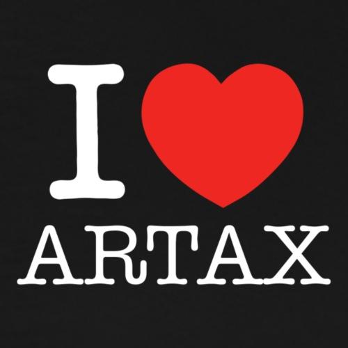 I (Heart) Artax - White - Men's Premium T-Shirt