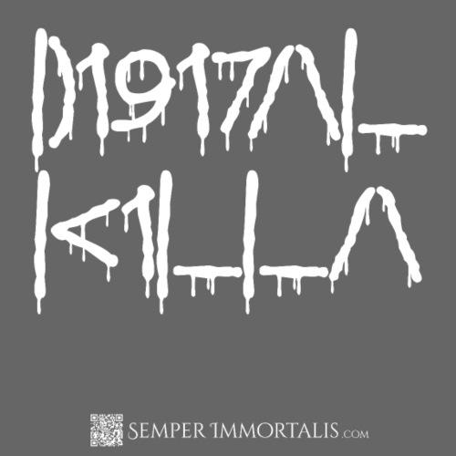 Digital Killa (white) - Men's Premium T-Shirt
