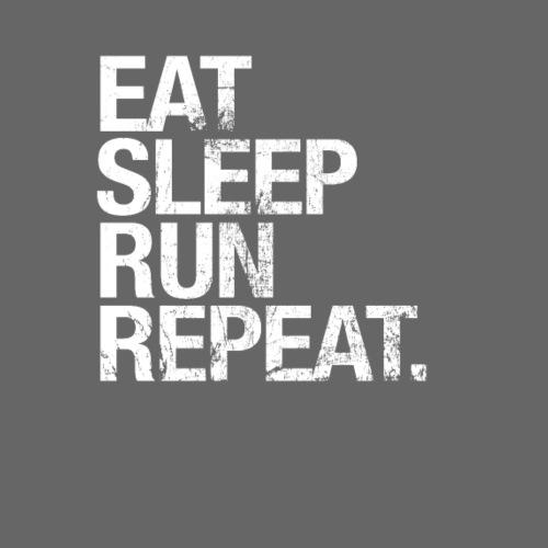Eat Sleep Run Repeat - Great Shirt for Runners - Men's Premium T-Shirt