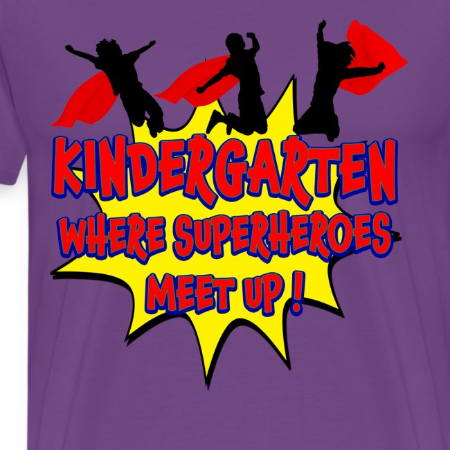 Kindergarten where SUPERHEROES meet up!