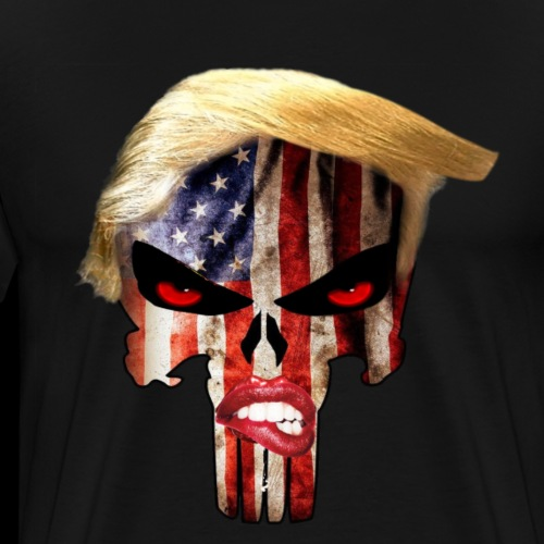 T Punisher Biting Lip - Men's Premium T-Shirt