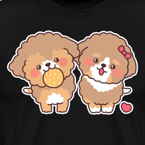 Doodles Logo - Men's Premium T-Shirt