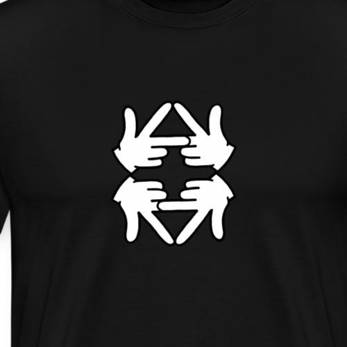 Logo reflection - Men's Premium T-Shirt