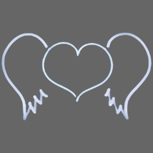 heart wings - Men's Premium T-Shirt