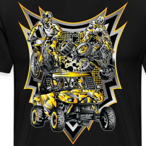 Extreme Off-Road Life - Men's Premium T-Shirt