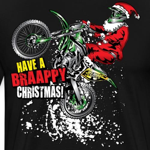 Braappy Christmas Santa - Men's Premium T-Shirt