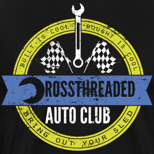 Crossthreaded Auto Club - Men's Premium T-Shirt