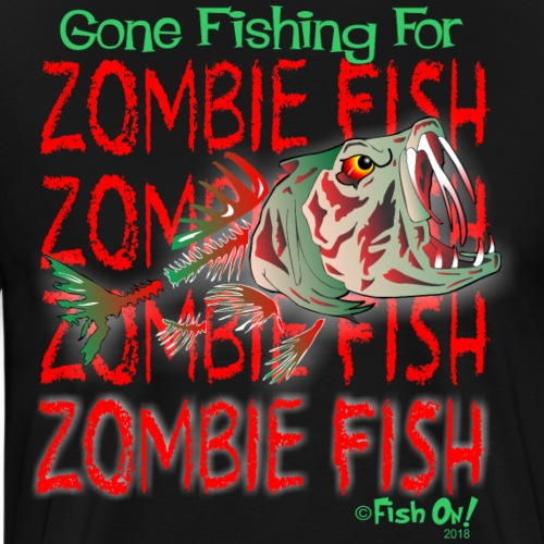 ZOMBIE fISH - Men's Premium T-Shirt