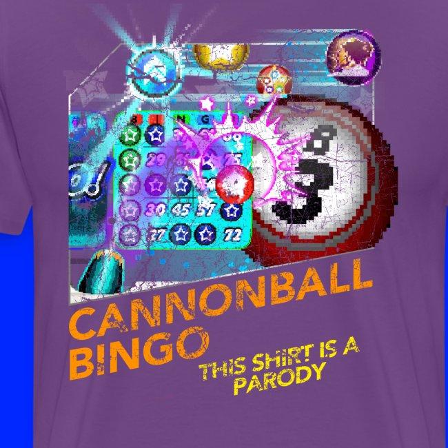 Vintage Cannonball Bingo Box Art Tee