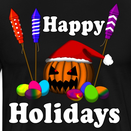 HAPPY HOLIDAYS - ALL IN ONE - Men's Premium T-Shirt
