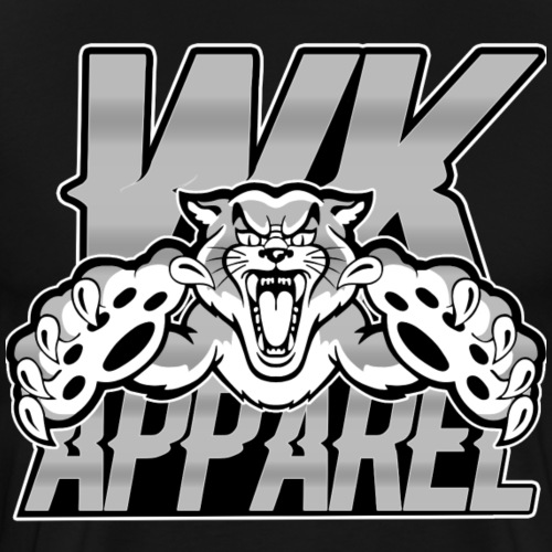 WK Wild Cat Logo - Men's Premium T-Shirt