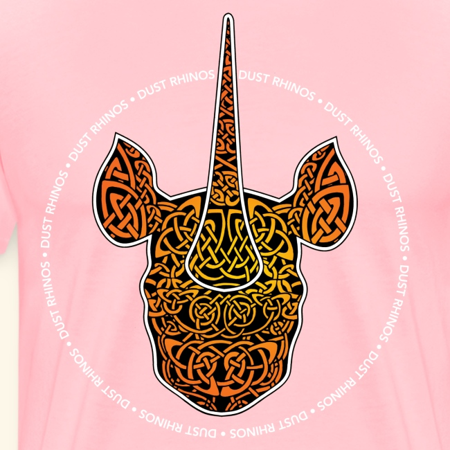Dust Rhinos Orange Knotwork