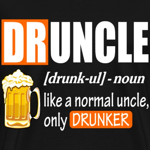 Druncle 1 - Men's Premium T-Shirt