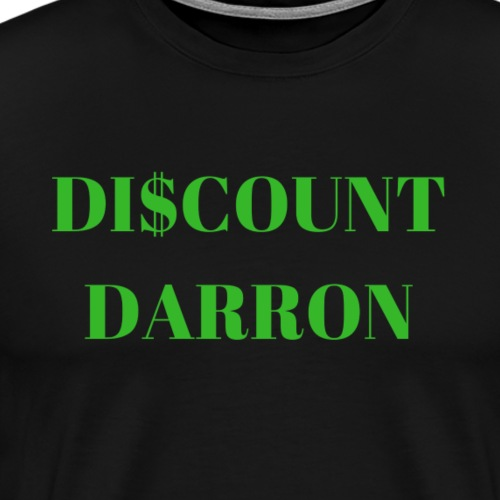 Discount Darron - Men's Premium T-Shirt
