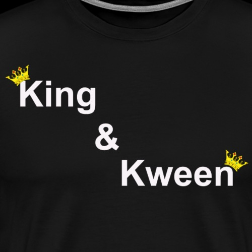King & Kween - Men's Premium T-Shirt