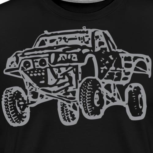 Jump Truck Grey - Men's Premium T-Shirt