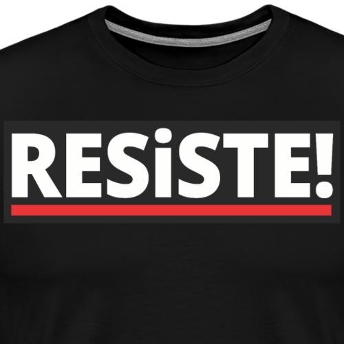 Resiste! - Men's Premium T-Shirt