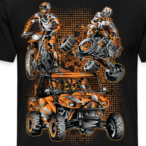 Extreme Off-Road Vehicles - Men's Premium T-Shirt