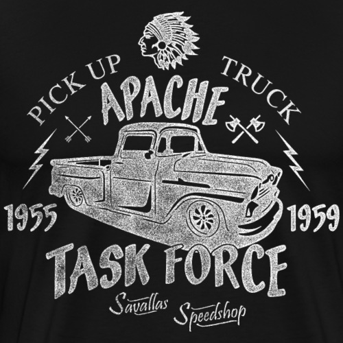 Chevy Pick Up Truck - Task Force - Men's Premium T-Shirt