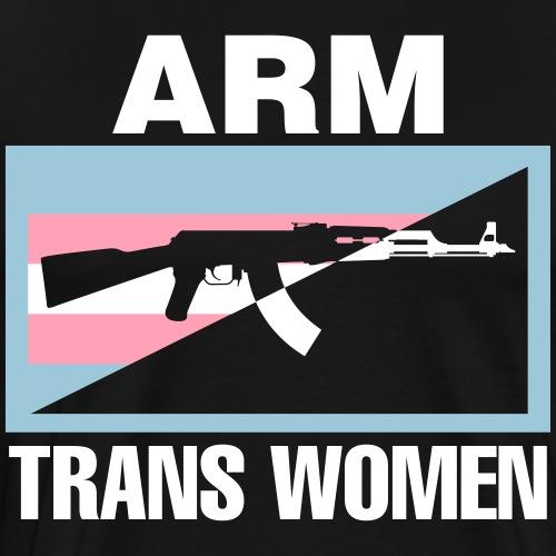 Arm Trans Women - Men's Premium T-Shirt