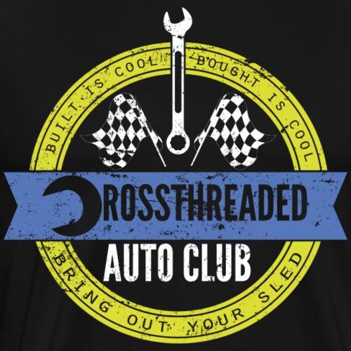 Crossthreaded Auto Club - Men's Premium T-Shirt
