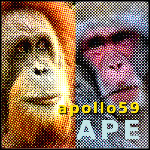 APE - Apollo59 Cover Art - Men's Premium T-Shirt