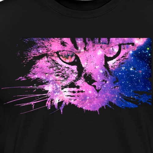 Cat Galaxy - Men's Premium T-Shirt