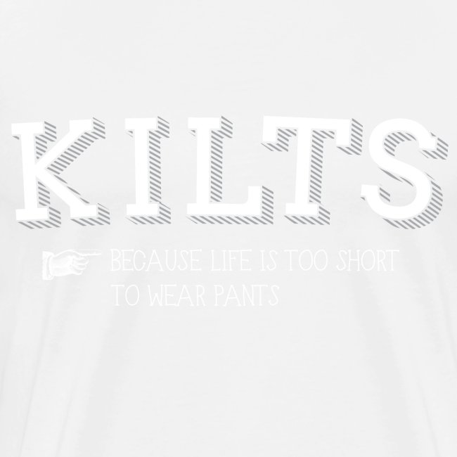 kilts white