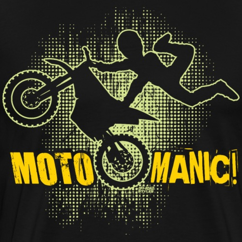 Motocross Maniac - Men's Premium T-Shirt