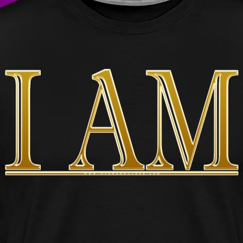 I AM - Gold - Men's Premium T-Shirt