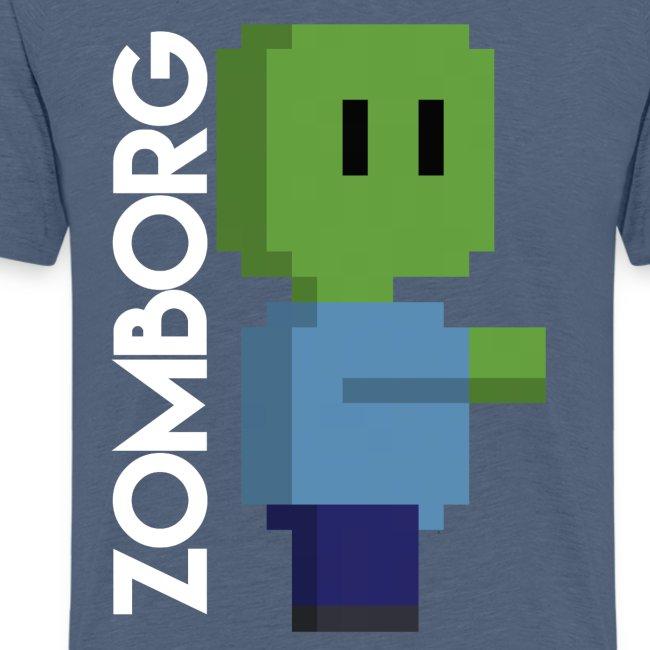 Minecraft Zombie Pixel art Mug
