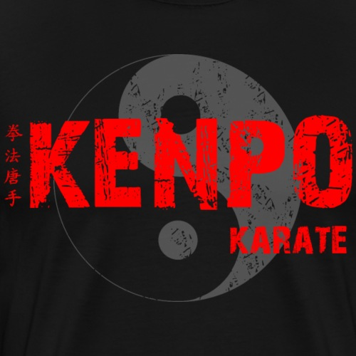 kenpo Yin Yang red - Men's Premium T-Shirt