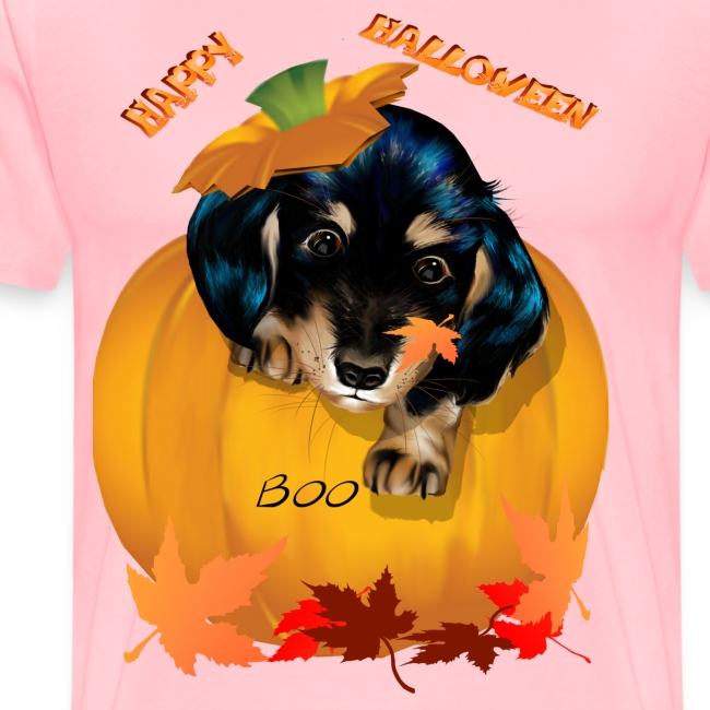Halloween Dashund Puppy-Boo