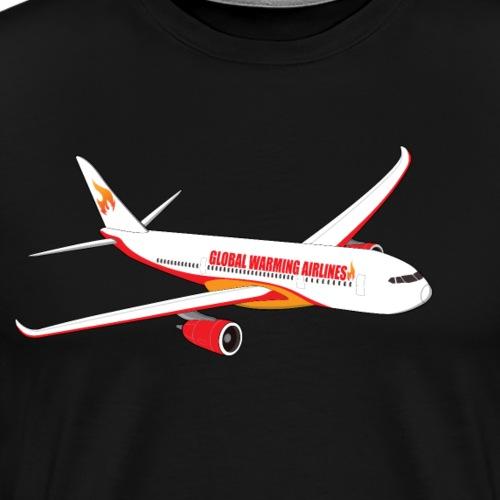 Global Warming Airlines - Men's Premium T-Shirt