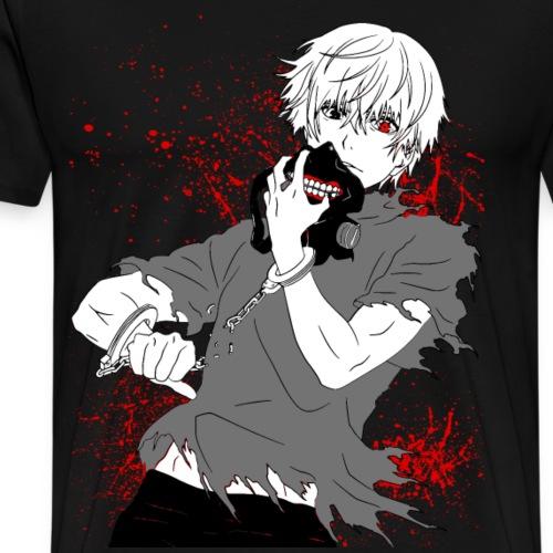 Tokyo Ghoul - Kaneki's Redemption (Black Version) - Men's Premium T-Shirt