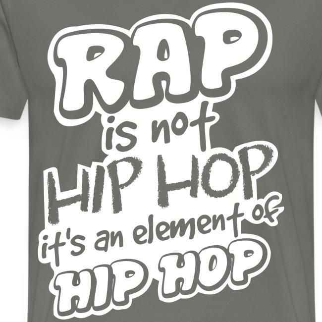 rap is not hip hop