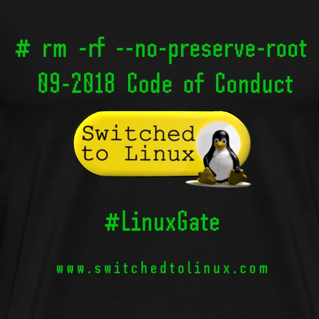 rm Linux Code of Conduct