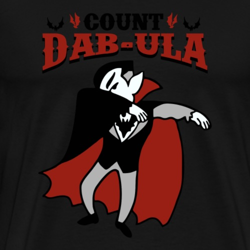 Count Dab-ula | Halloween Dance Party - Men's Premium T-Shirt