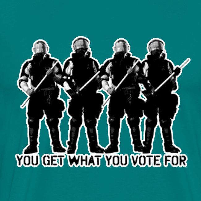 you get what you vote for