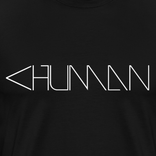 Less than human - Men's Premium T-Shirt