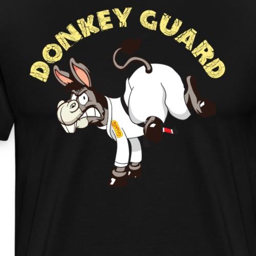 Brazilian Jiu jitsu BJJ donkey guard Tee shirt - Men's Premium T-Shirt