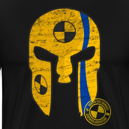 Scotch Test Dummies Scotch God Helmet - Men's Premium T-Shirt