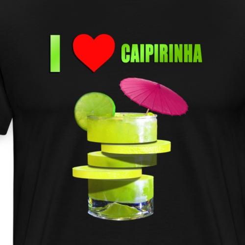 CAIPIRINHA LOVE - Men's Premium T-Shirt