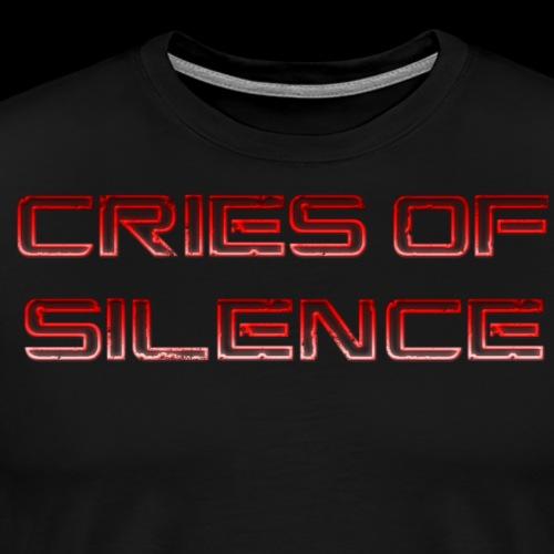 Cries of Silence - Men's Premium T-Shirt